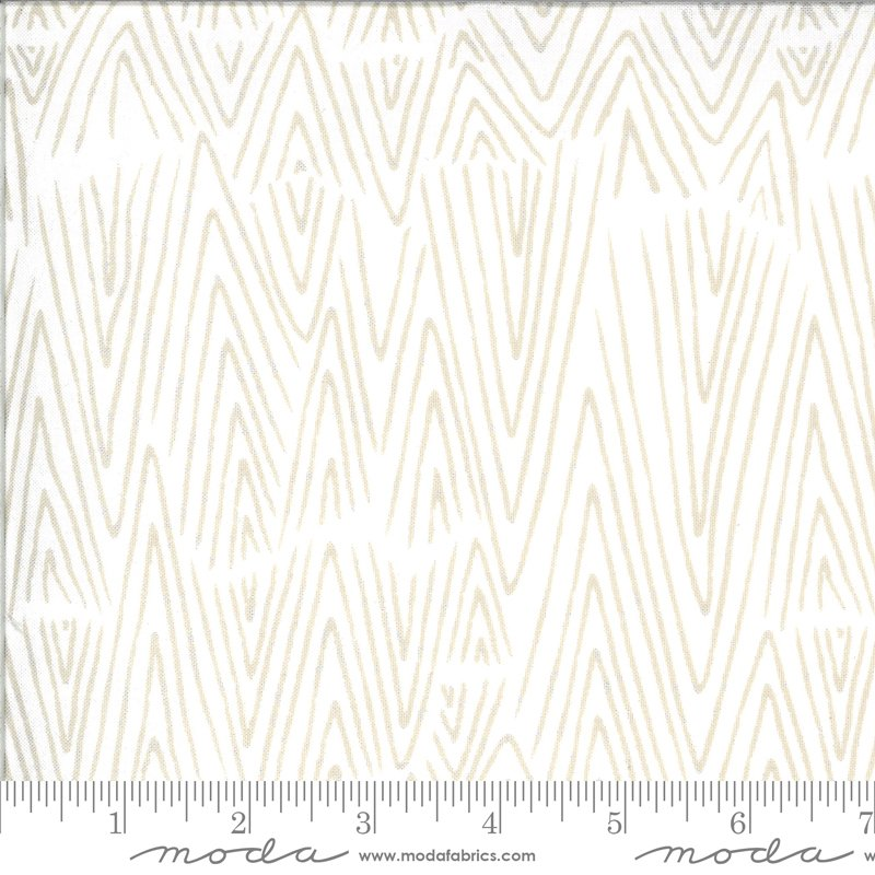 Zoology Mud Cloth Ivory Feather - COMING SOON