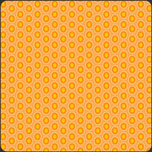Oval Elements Papaya Orange