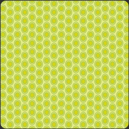 Oval Elements Green Apple
