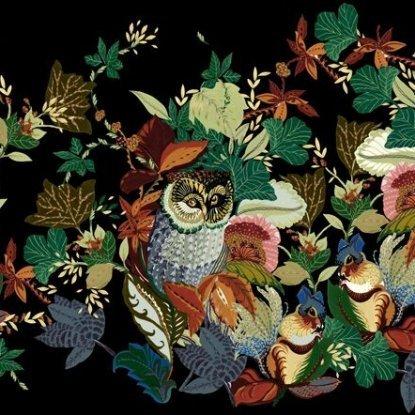 Fall Harvest Owl Black