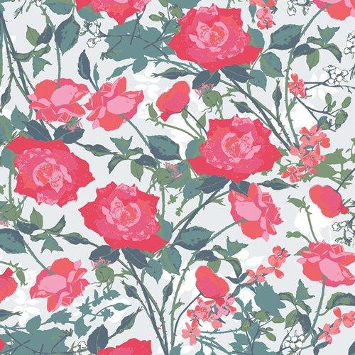 Picturesque Rosemantic Trellis Bright