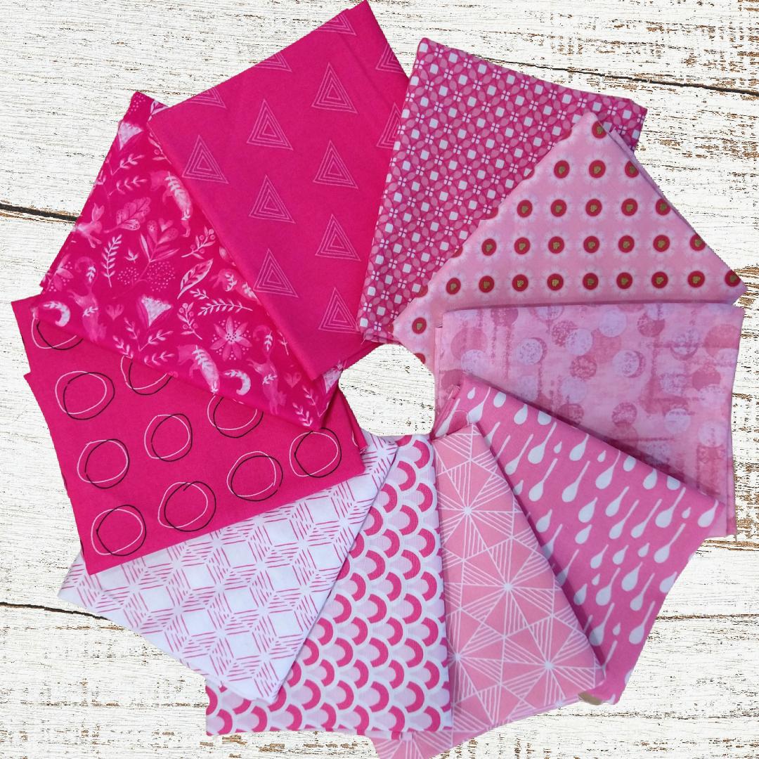Colorway FQ bundle (10 pcs) - Pinky Promise