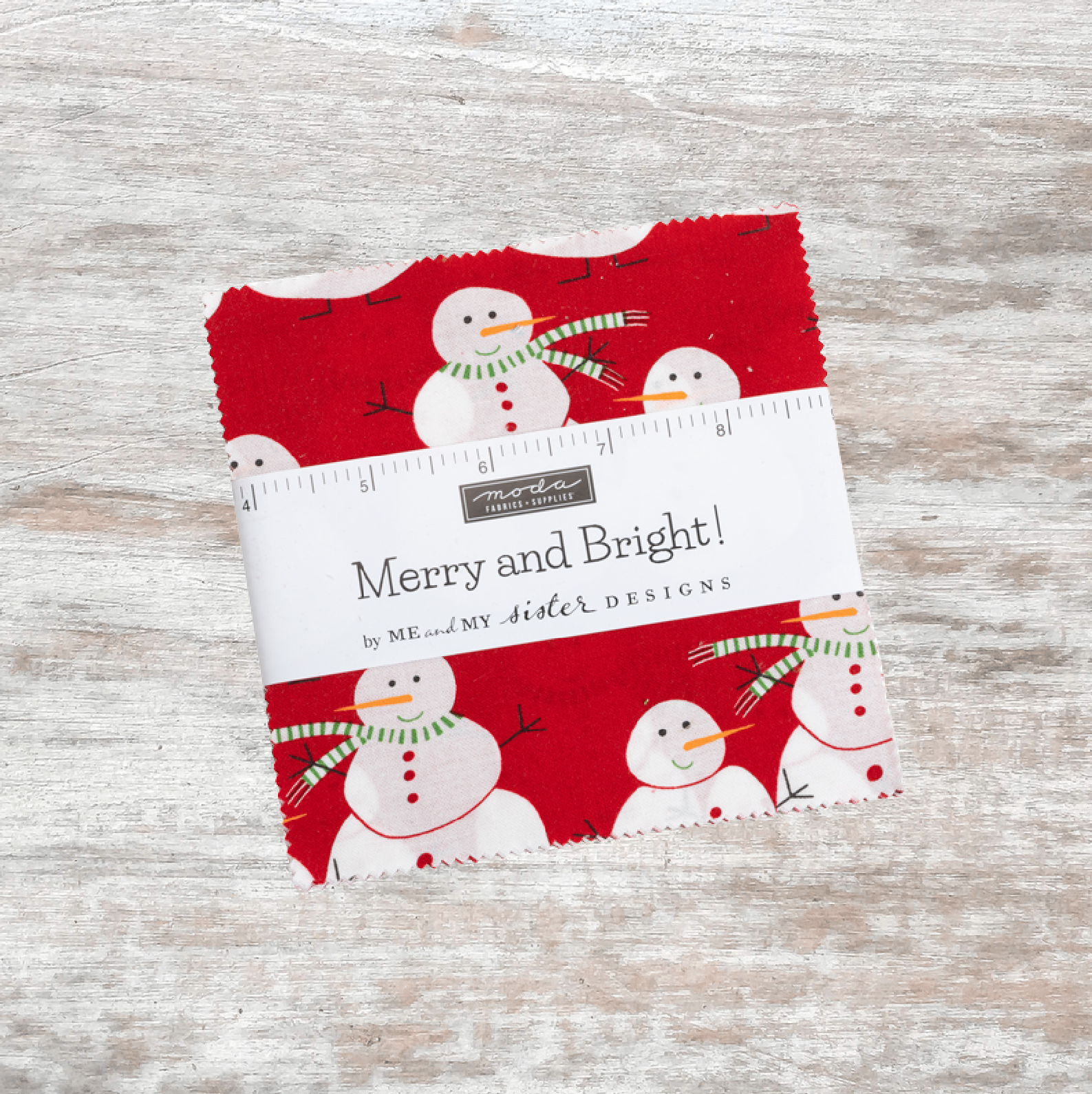 Merry And Bright Charm Pack (42 pcs)