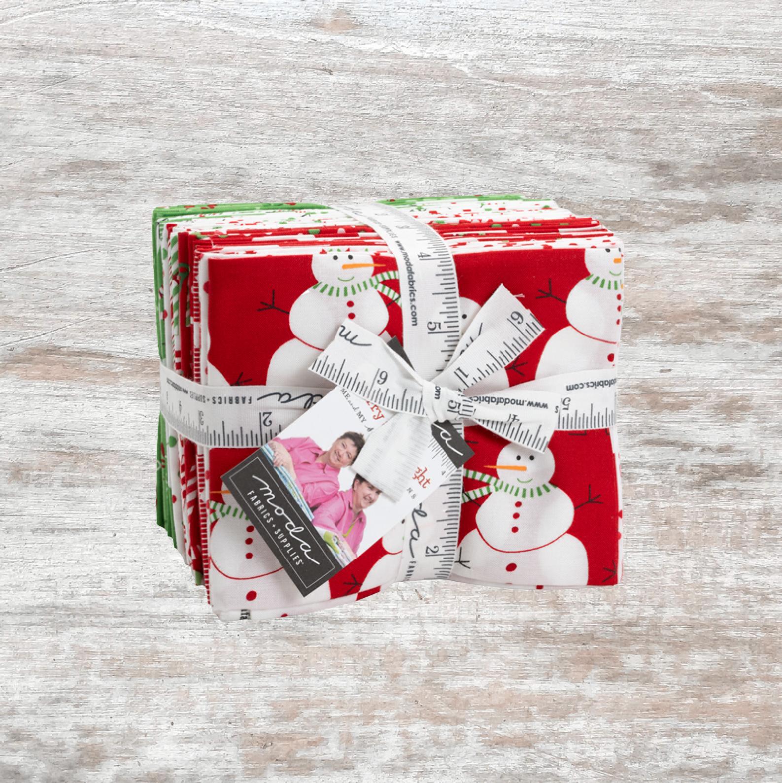 Merry And Bright FQ Bundle (26 pcs)
