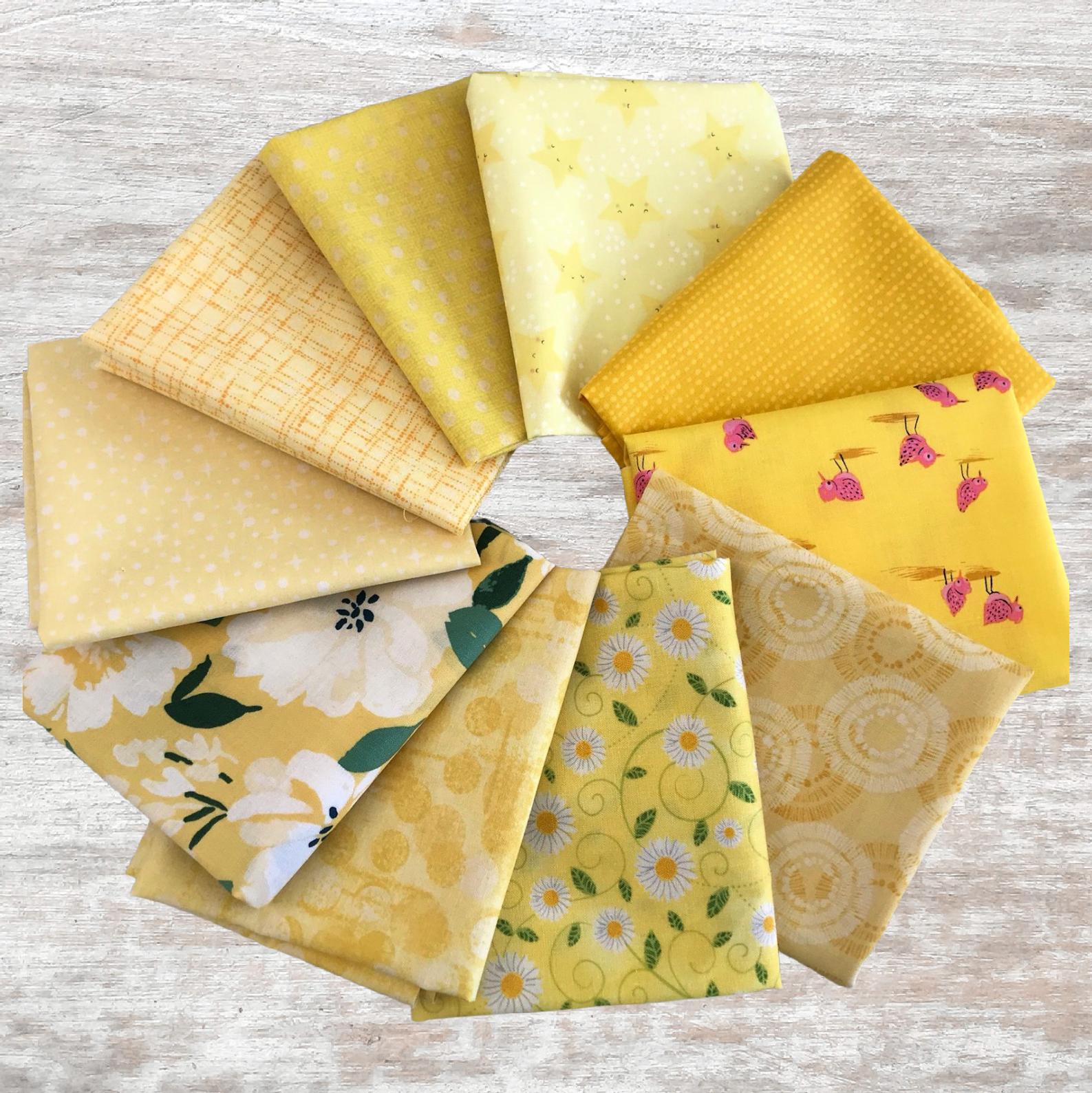 Colorway FQ Bundle (10 pcs) - Yellows