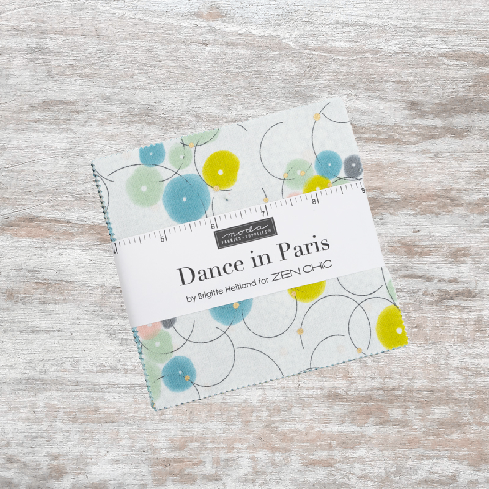 Dance In Paris Metallic Charm Pack (42 pcs)