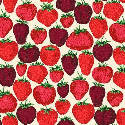 English Garden - Strawberry Floods - Cream