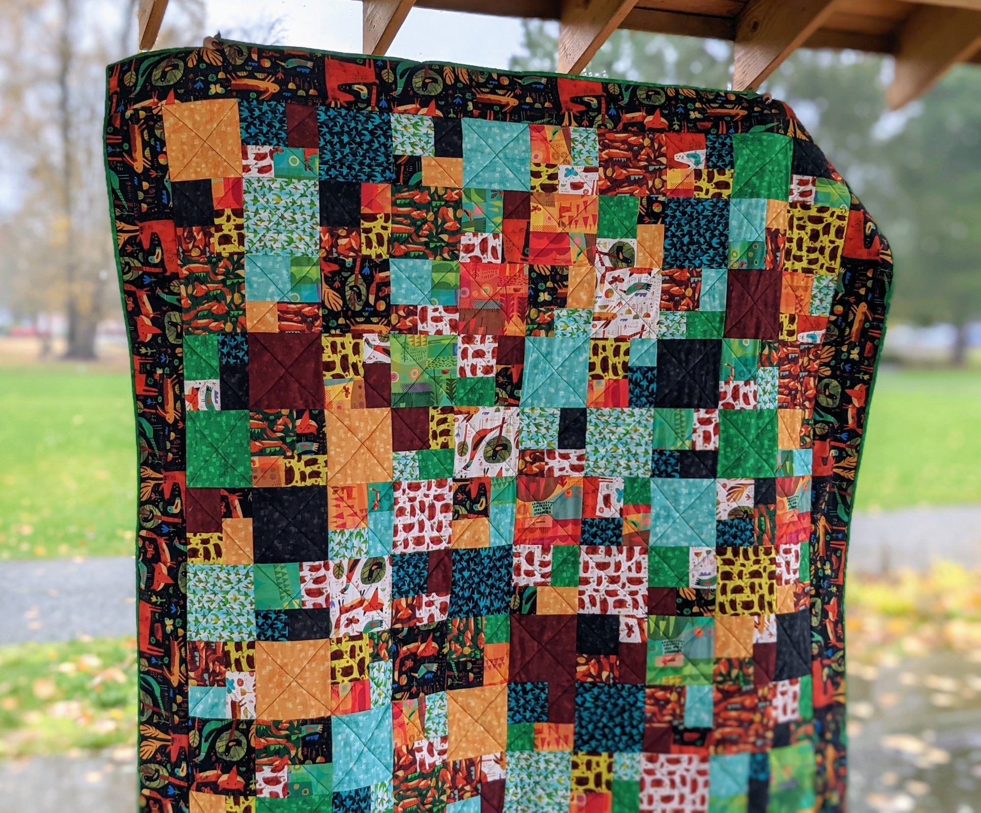 Woodland Tidbits Quilt Kit (60x70)