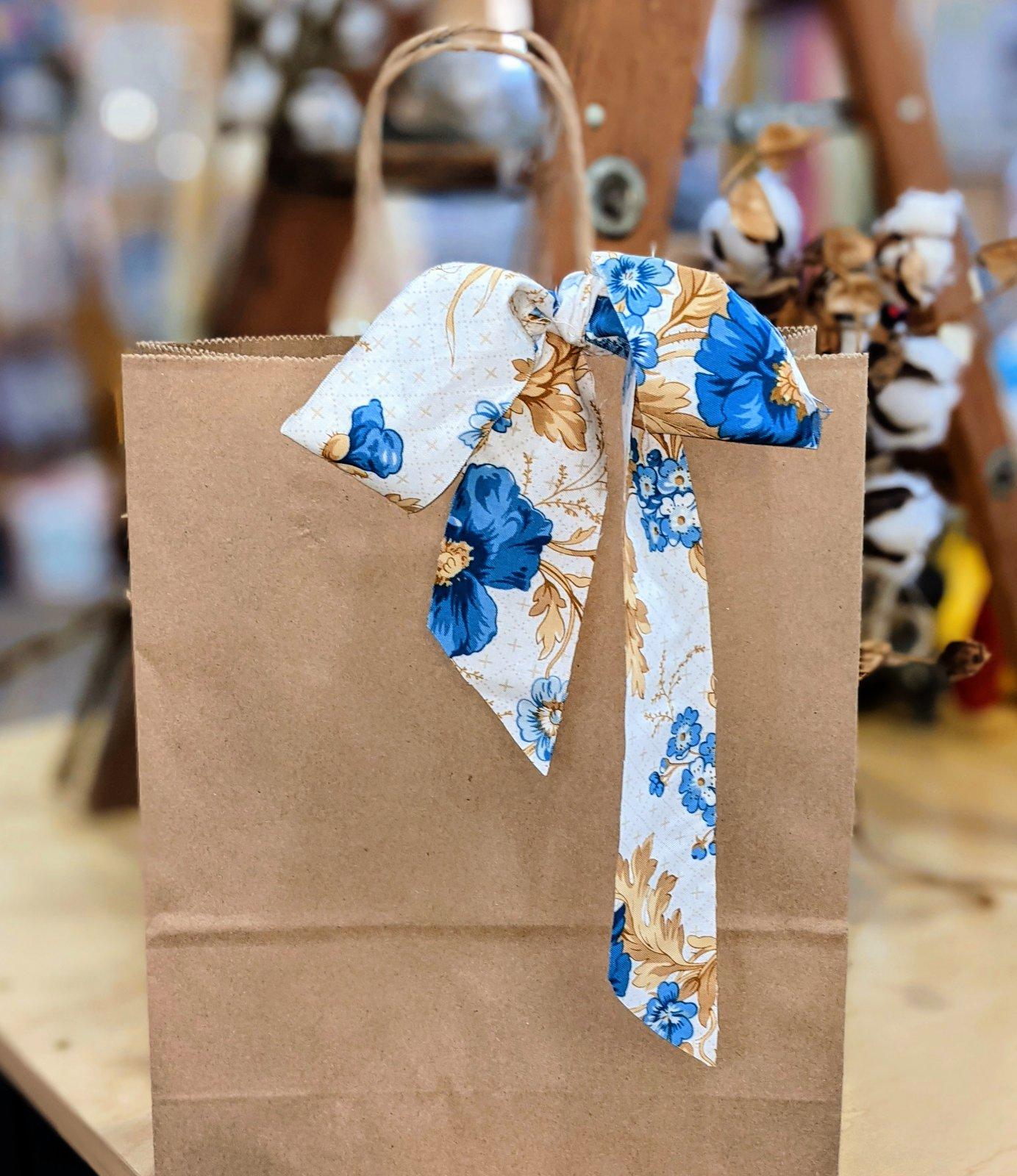 2021 Brown Bag Mystery - Vintage Blue