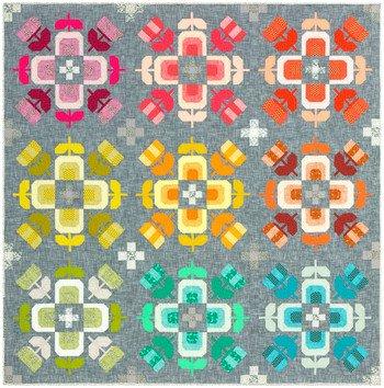 Casserole Quilt Kit by Elizabeth Hartman (86x86)