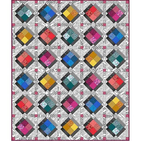 Quilters Combination Quilt (~58X69)