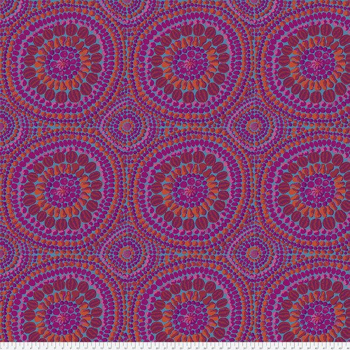 Kaffe 108 Backing Fruit Mandala Pink