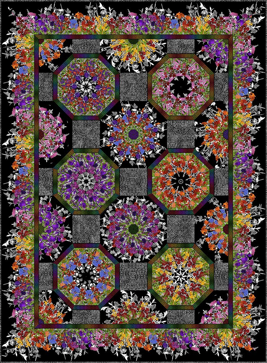Rainbow of Jewels Kaleidoscope Kit (65x87.5)