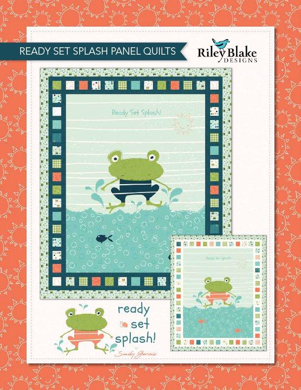 Ready Set Splash Quilt Coral Kit (44.5x53.5)