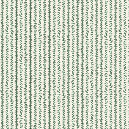 Strawberry Fields Laurel Stripe Cream