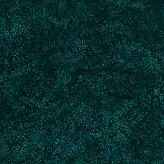 Bali Batiks Tiny Branches Deep Emerald - COMING SOON