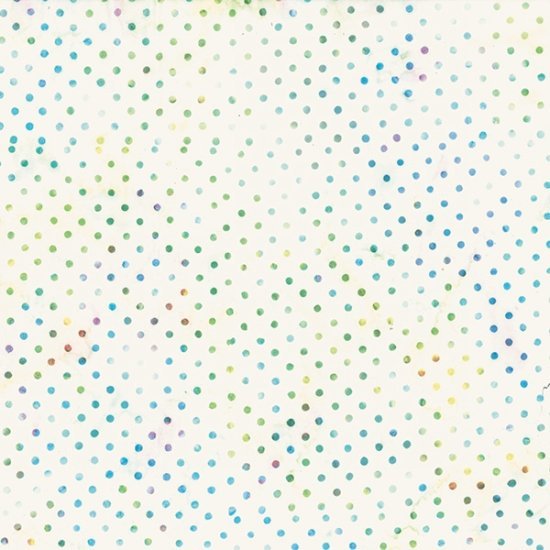 Bali Batiks Dots Lt. Bright - COMING SOON