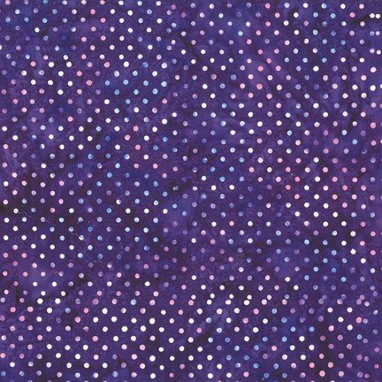 Bali Batiks Dots Violet - COMING SOON