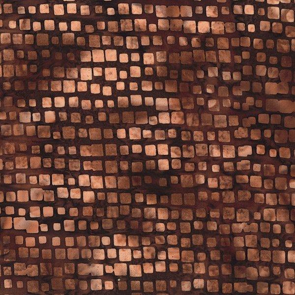 Bali Batik Square Stripe Brown