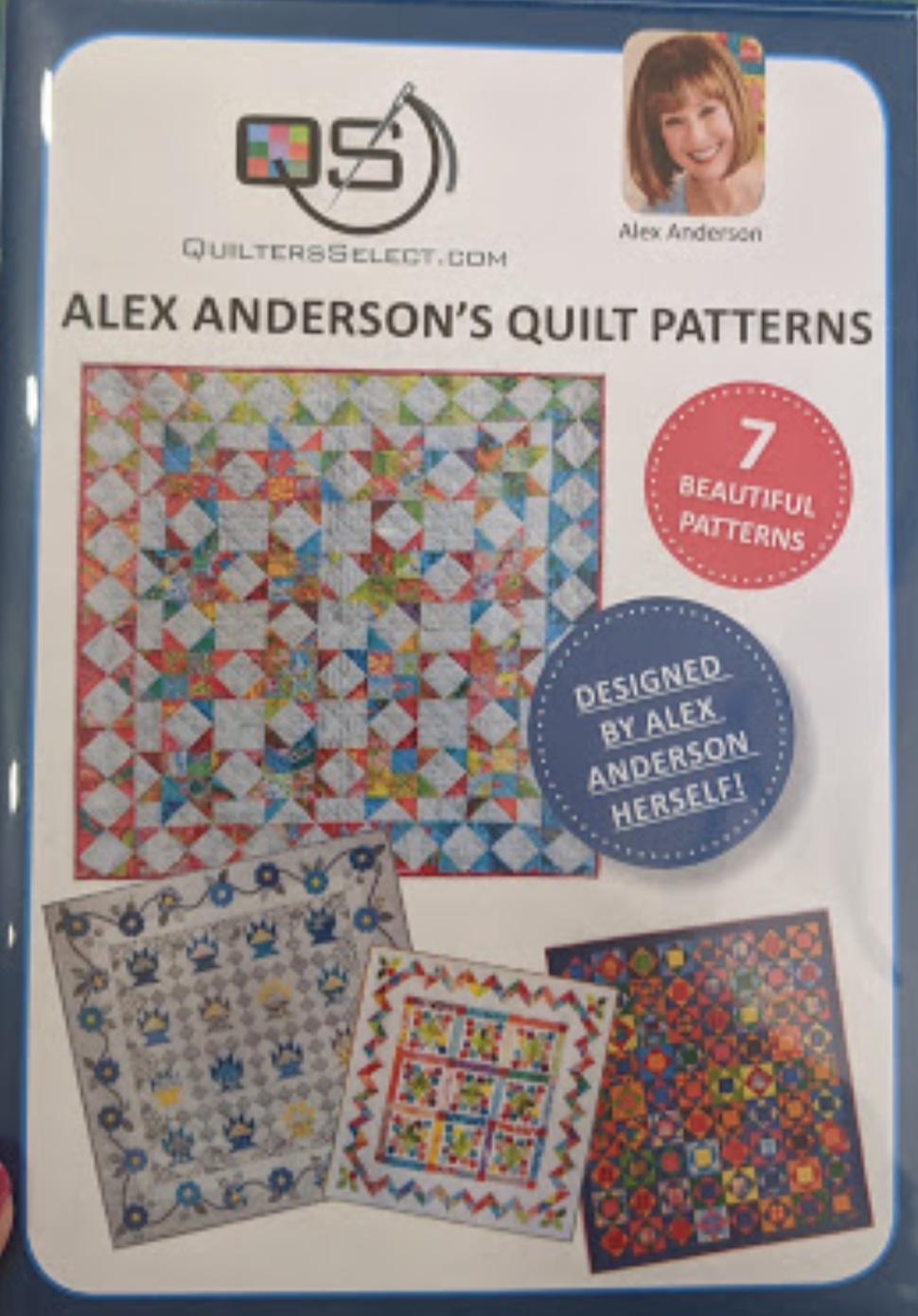 Alex Anderson's Quilt Patterns Dvd