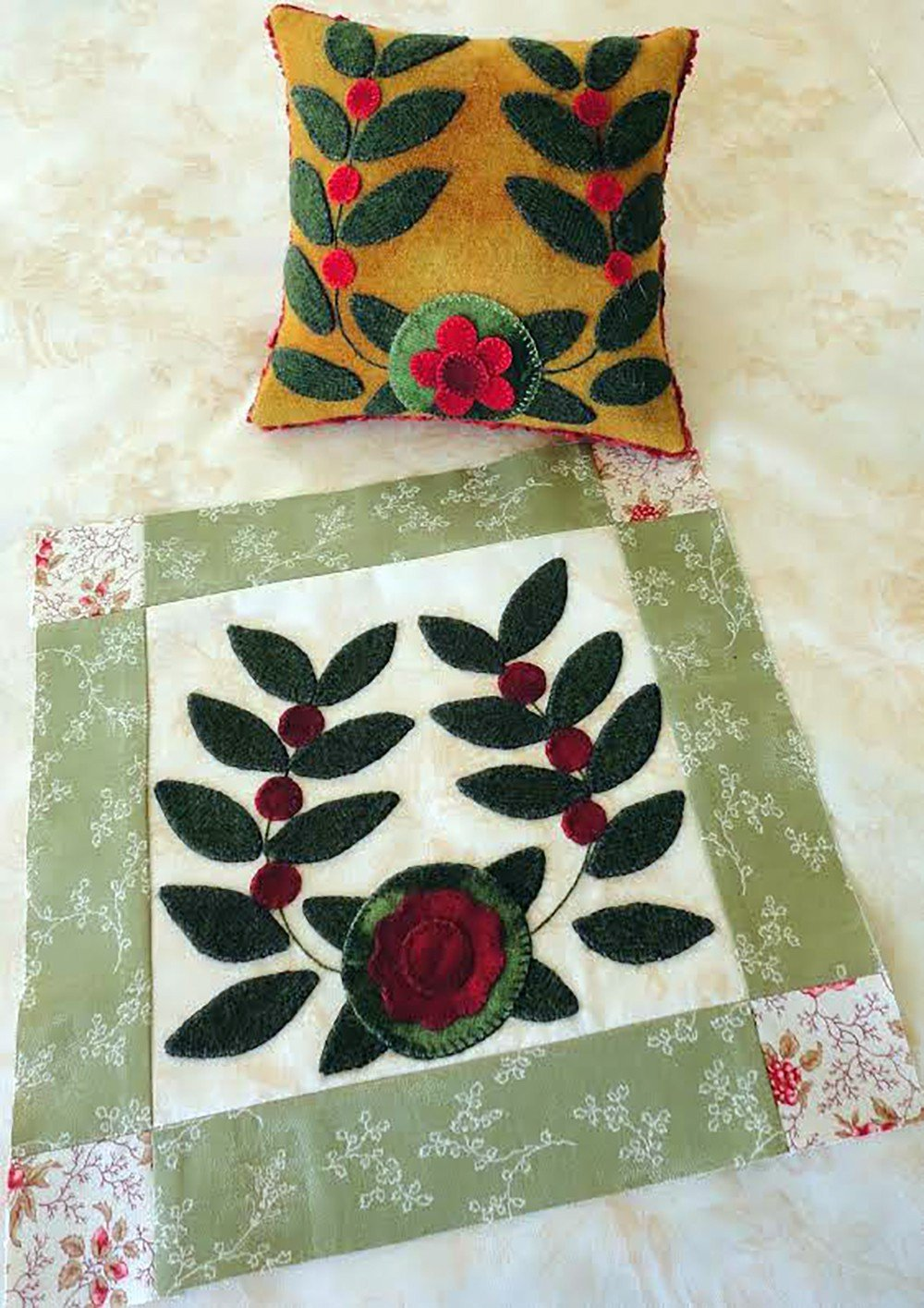Antique Quilt Block - July