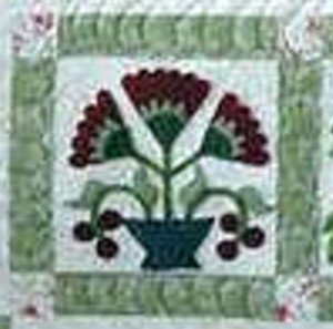 Antique Quilt Block - October