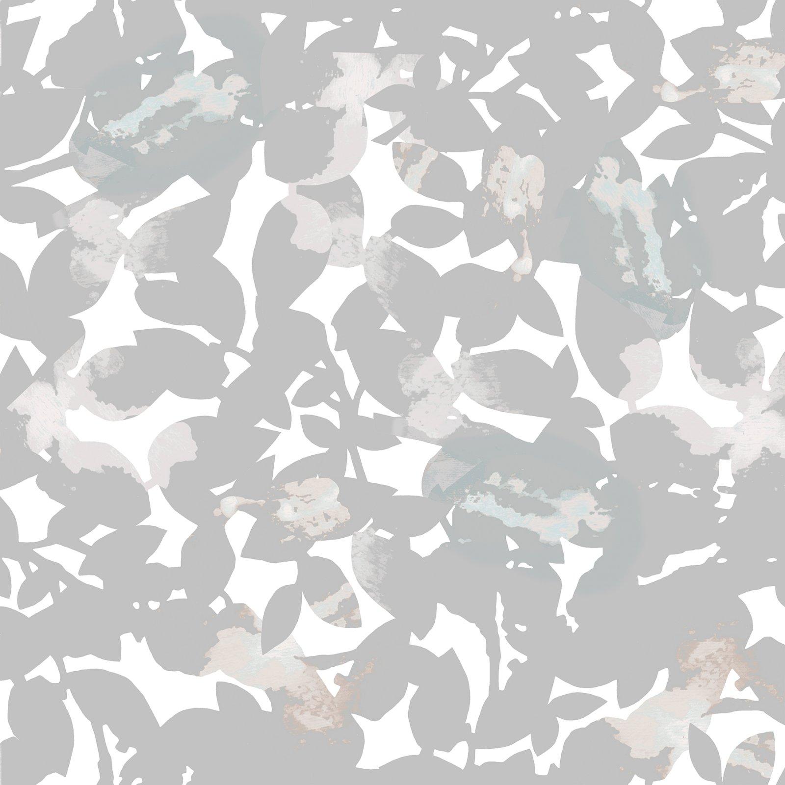 Cold Press In Bloom - Leaves - Dove
