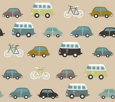 Roundabout - Transportation Turquoise