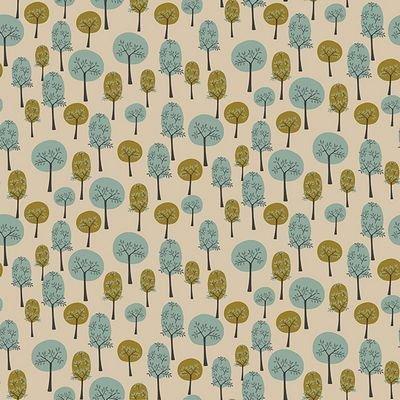 Roundabout - Trees Turquoise