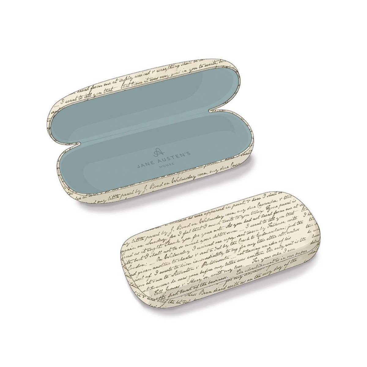 Jane Austen Eye Glasses Hard Case