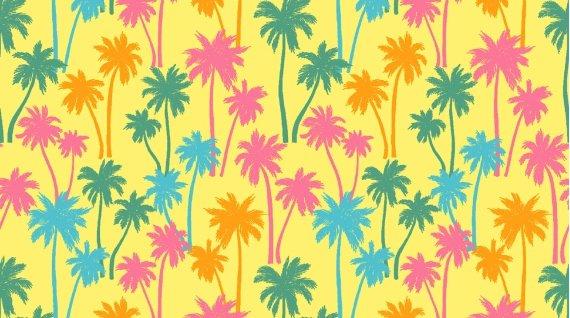 Aloha Palm Trees Banana