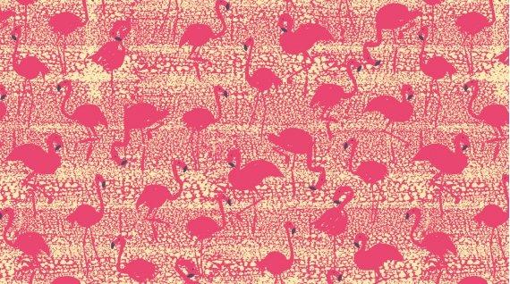 Aloha Flamingos Sand