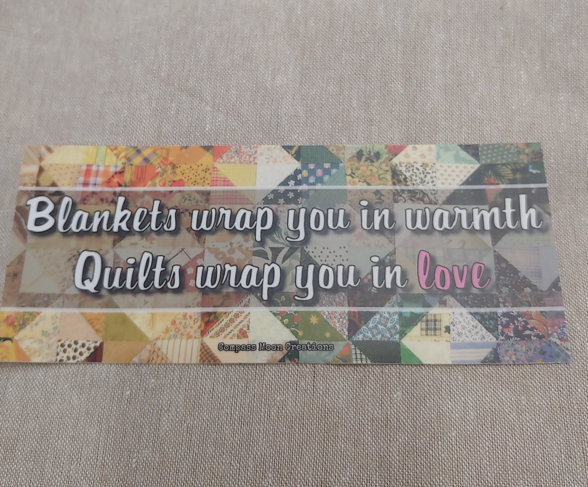 Blankets & Quilts sticker