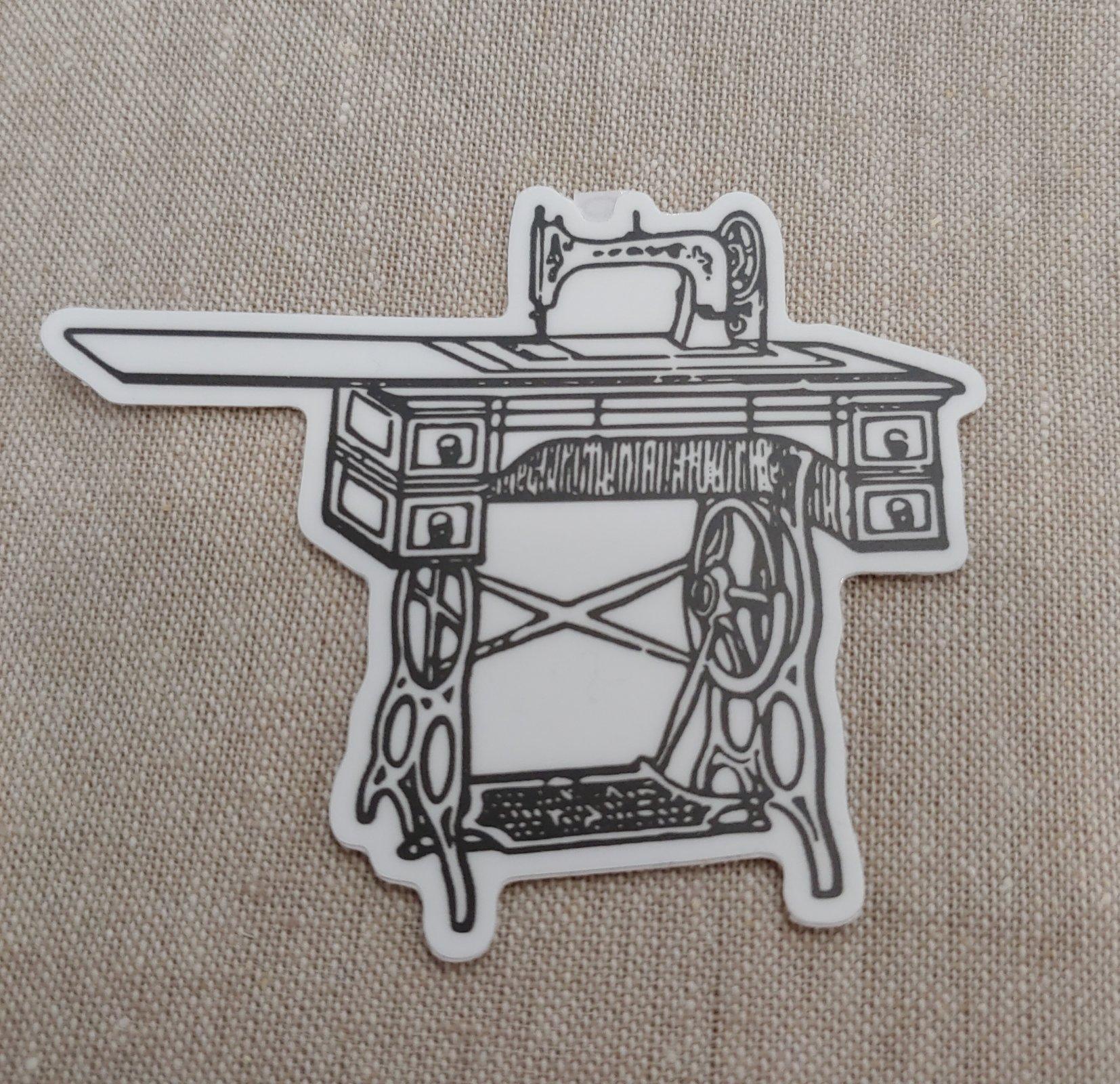Treadle Machine sticker