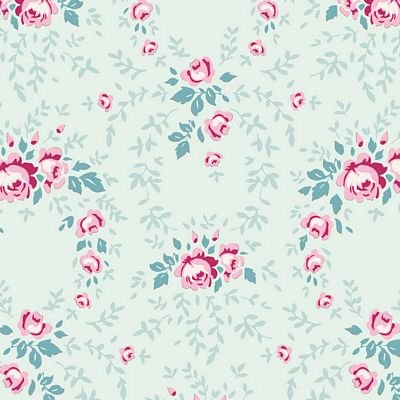 Old Rose Lucy Teal Mist