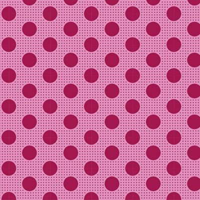 Tilda - Medium Dots Maroon