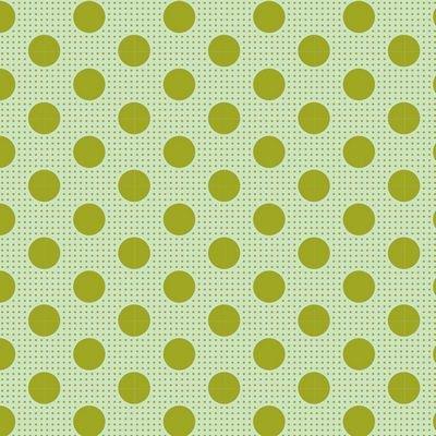 Tilda - Medium Dots Green