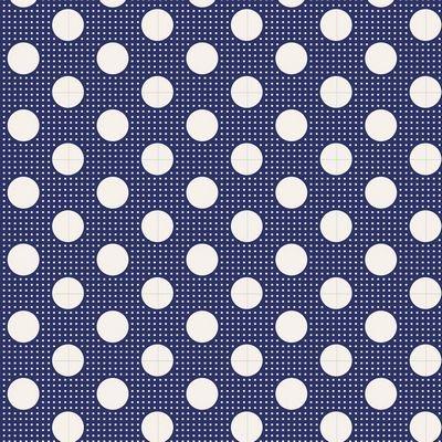 Tilda - Medium Dots Night Blue