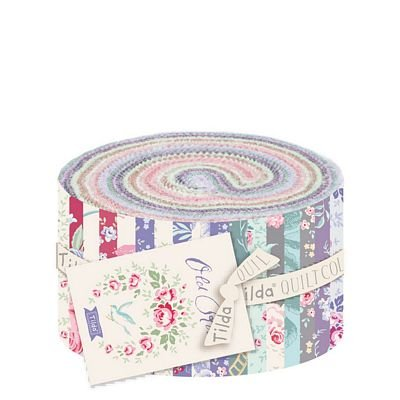 Old Rose 2.5 Fabric Roll (40pcs)