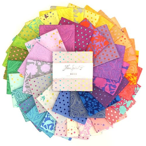 PRE-ORDER -  Tula's True Colors 5 Charm Pack (42 pcs) (July 2020)