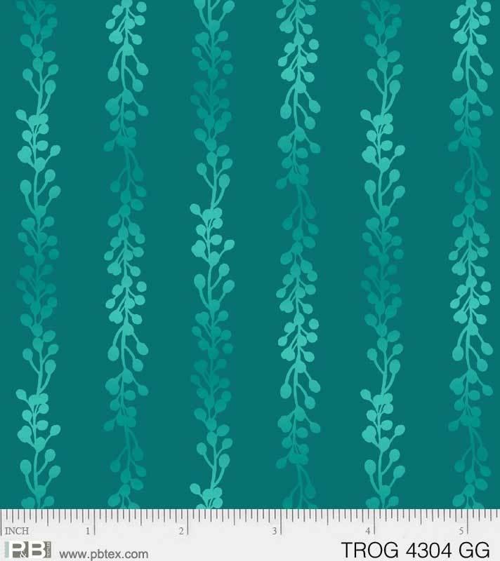 Tropic Gardens Stems/Buds Green