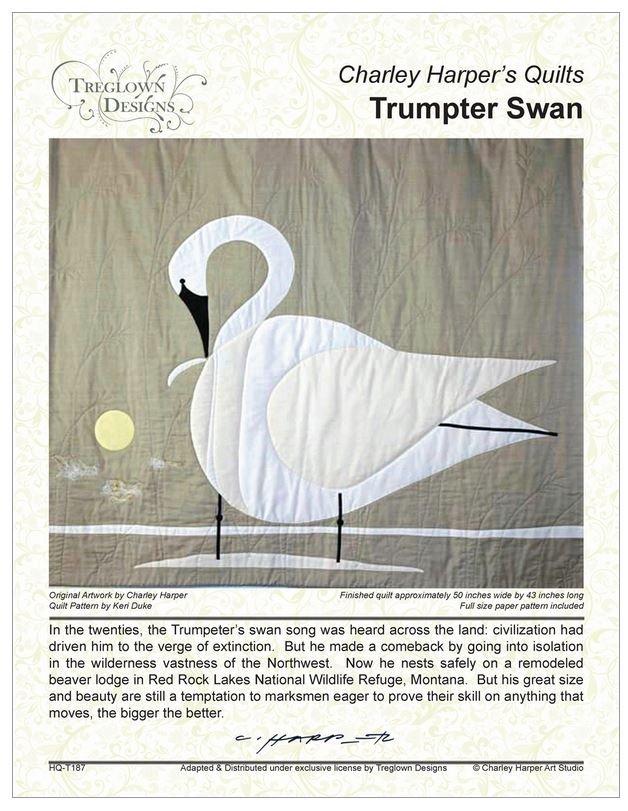 Charley Harper - Trumpeter Swan