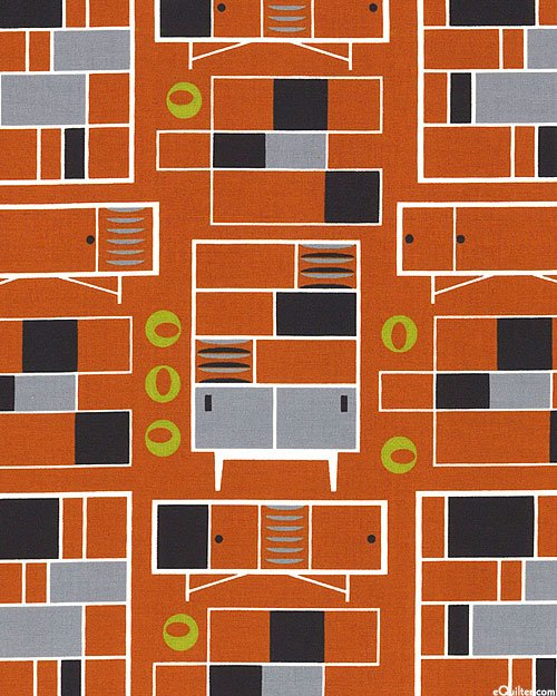 Loft Life - Modular Furniture Burnt Orange