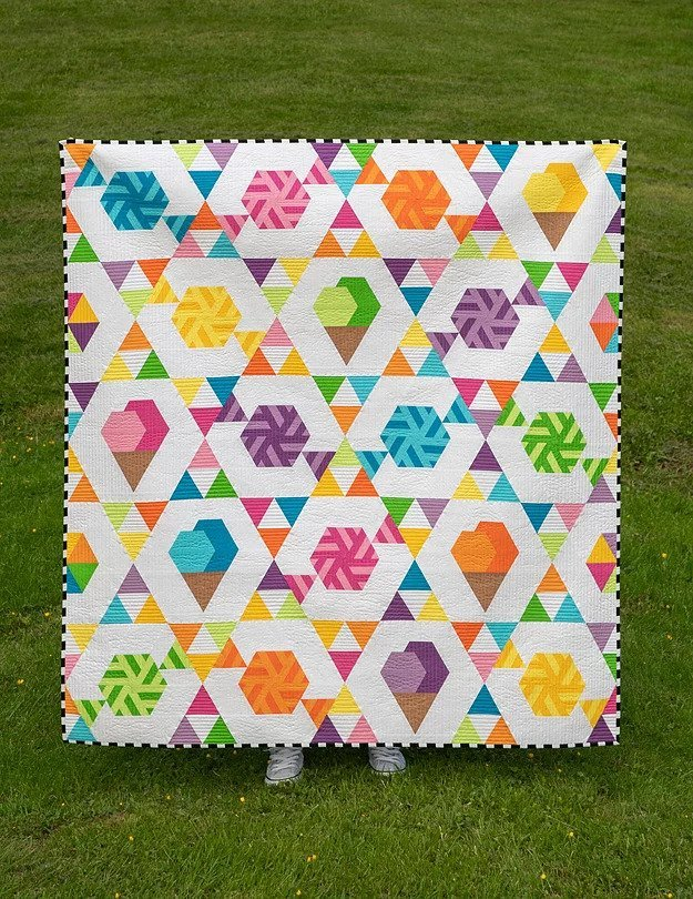 Two Scoops Quilt Kit (56x60)
