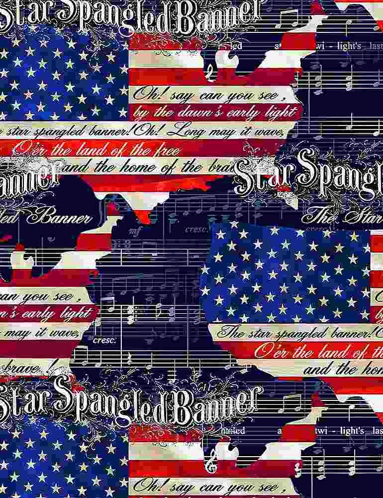 We The People Star Spangled Banner USA