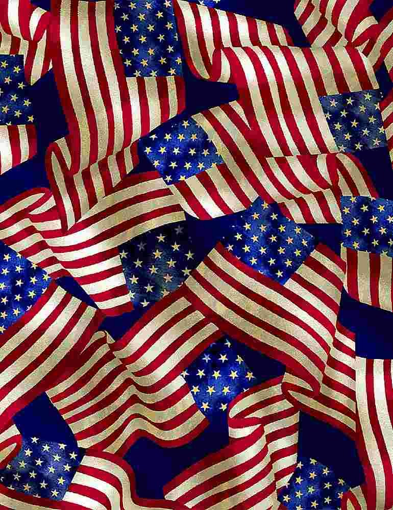 We The People Packed USA Flags