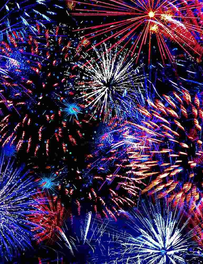 We The People Patriotic Fireworks
