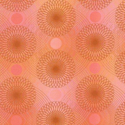 Loose Leaf Spirographs Coral