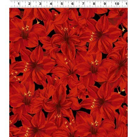 Holidays Remembered Lg Floral Red