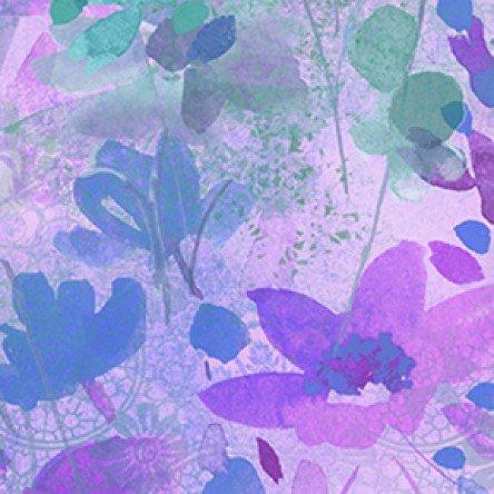 Good Vibes Digital Floral Lt. Purple